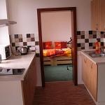 4 kuchyně a ložnice